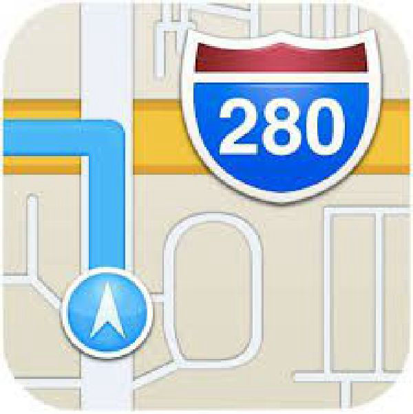 Apple Maps navigation icon